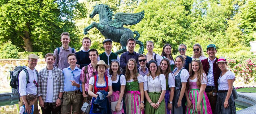 Gruppenfoto der 4TA